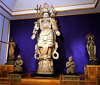 Wooden statue of Bhasamon