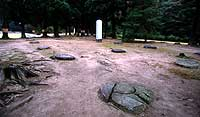 The remains of the Moshi Temple grounds