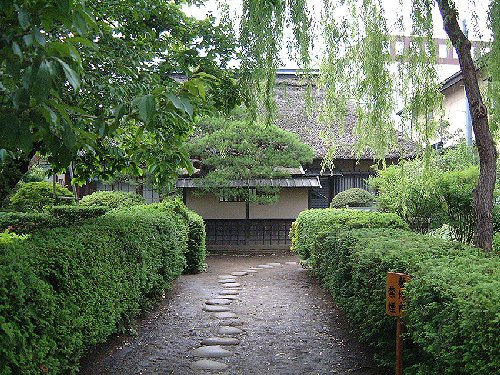 Samurai residence · Goto Shinpei old house